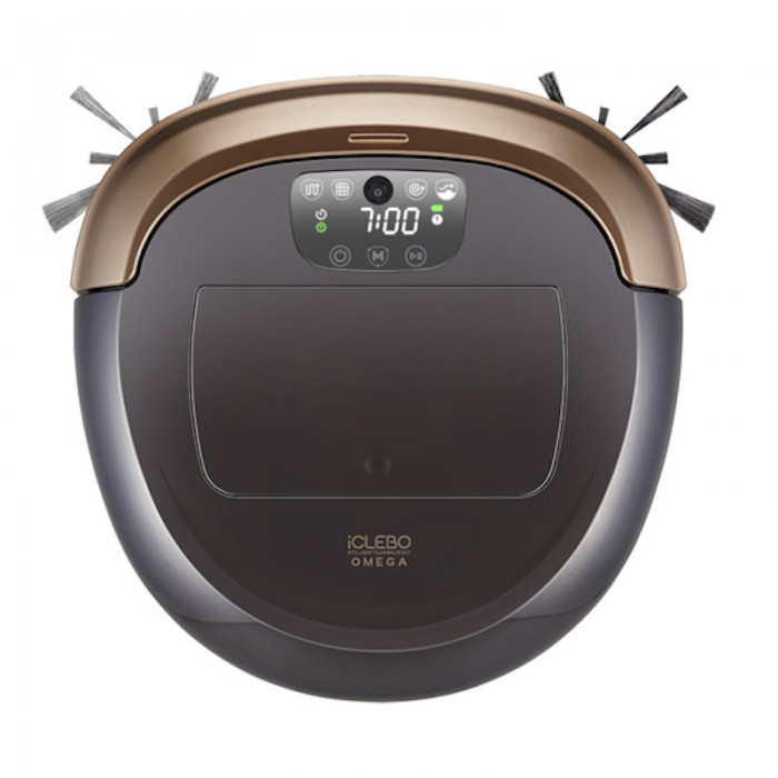 Iclebo Omega Robot Vacuum Cleaner Made In Korea Gold