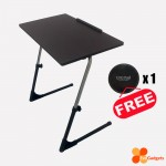 Folding, Foldable, Portable, Laptop, Notebook, Ergonomic Adjustable Table (Made in Malaysia - Export Quality to Japan!)