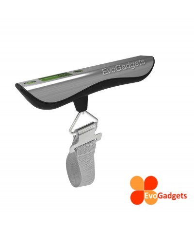 EvoGadgets Digital Luggage Scales with built in 1 meter Measuring Tape