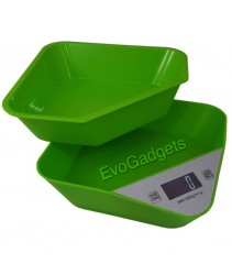 Innovative Kitchen Scales with Removable Tray or Mixing Bowl