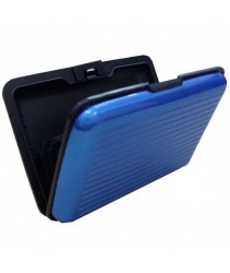 Aluminium Credit Card Holder (Blue)