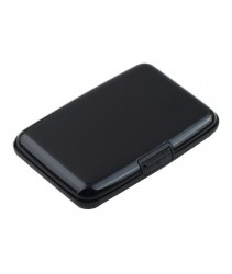 Aluminium Credit Card Holder (Black)