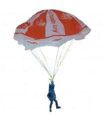 Classic Toy - Airborne Assault Paratrooper Parachute Toy x 4 set (Random Colour)