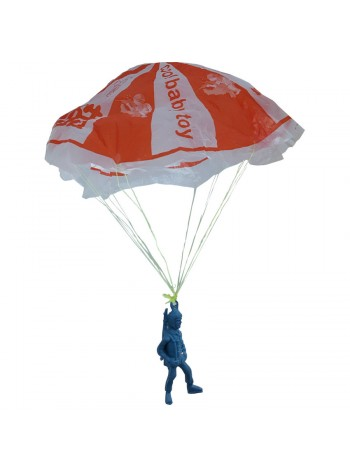 Classic Toy - Airborne Assault Paratrooper Parachute Toy x 4 set (Random Colour)