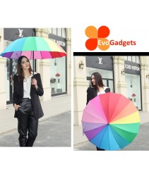 "Korean 23"" 16k Straight Umbrella"