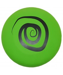 EVA Foam Frisbee or Flying Disk/Disc Cool Outdoor Family Fun at Pool, Beach, School, Playground, Park, Backyard BBQ -  (Diameter = 27cm - Green-Circle)