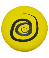 EVA Foam Frisbee or Flying Disk/Disc Cool Outdoor Family Fun at Pool, Beach, School, Playground, Park, Backyard BBQ  (Diameter = 27cm - Yellow-Circle)
