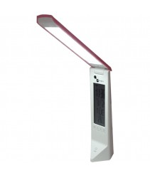 Rechargeable and Folding LED Reading Light - Pink