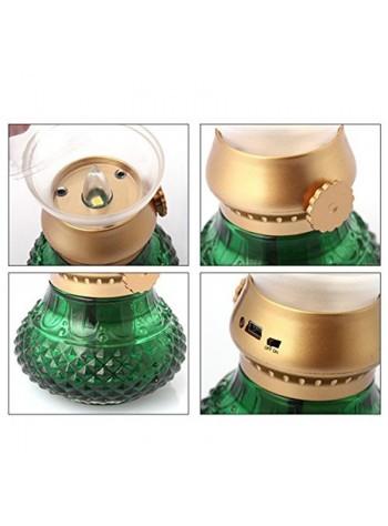 Blowable LED Night Light or Lamp (GREEN)