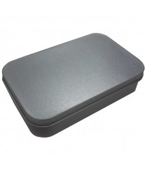 Multipurpose Silver Tin Gift Box