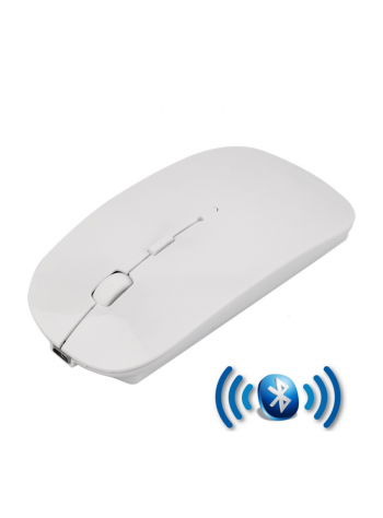 2f18ddb2a5d Rechargeable Super Slim Bluetooth Wireless Mouse (Built in Battery) - White