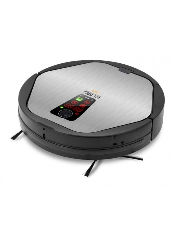 iCLEBO Arte Smart Home/Office Vacuum Cleaner and Floor Mopping Robot (Silver)
