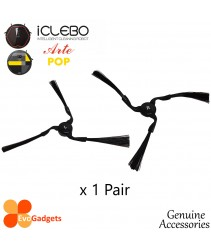 iCLEBO (ARTE and POP) Accessories-Side Brush  x 1 Pair ( Right and Left )