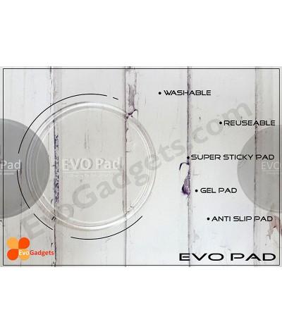 EVO Pad - Washsable and Reusable Super Sticky Pad  / Anti Slip Pad / Gel Pad (Transparent)