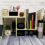 DIY Table Top Organiser - The best way to organize messy desk!
