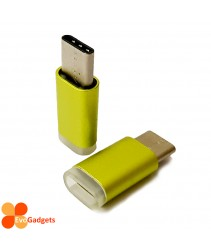 USB Type C to Micro USB Adapter - Green