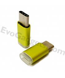 USB Type C to Micro USB Adapter - Green