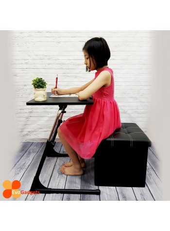 COMBO DEAL- Perfect Kids Table and Chair (S-Black)