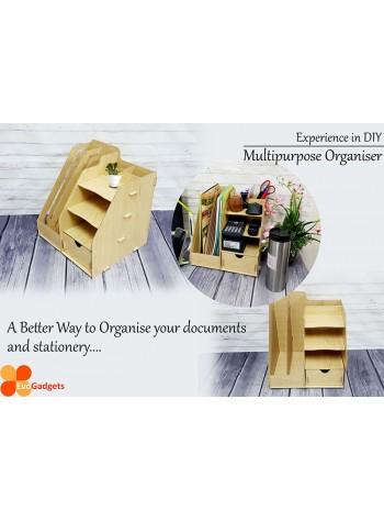 Office DIY Multipurpose Desk Organizer / Documents Organiser  / Rack