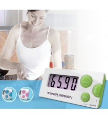 Kitchen Timer with Magnet (Multipurpose Count Down Timer)