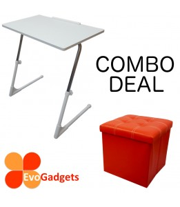 COMBO DEAL- Perfect Kids Table and Chair (S-White)