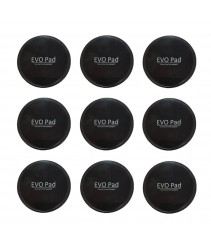 Special Deals : EVOPad - Washable and Reusable Sticky Pad / Gel Pad (Black x 9pcs)