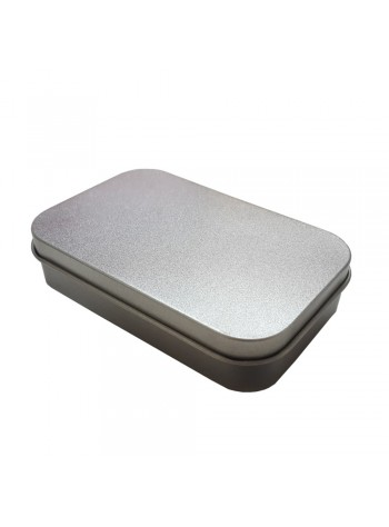 Rectangle Tin Box - Multipurpose Storage Box for Small Items