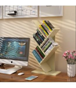 5 - Tiers Tree Shape Bookcase / Rack / Display Storage Rack / Book Rack  (Beige)