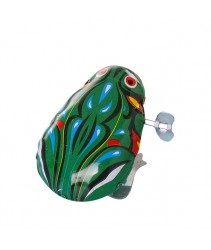 Classic / Traditional Toy Jumping Frog - Mechanical Frog Made of Steel
