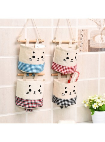Hanging Storage Pouch or Storage Pockets (Free x1 Magic Hook)