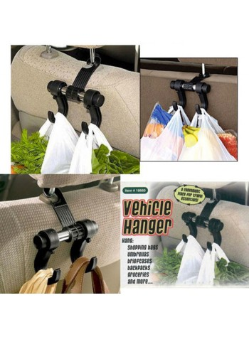 Car/Vehicle Hanger/Hook Bag Organizer with Double Hooks