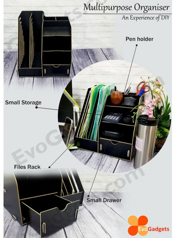 Office DIY Multipurpose Desk Organizer / Documents Organiser  / Rack
