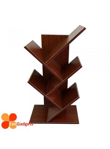 EvoGadgets Display Wooden / Bookshelf / Bookcase / Book Shelf Rack (Innovative Tree Shape)