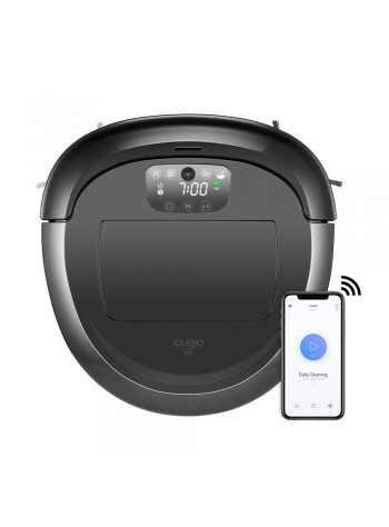 EvoGadgets - iCLEBO O5 - Robot Vacuum Cleaner (Made In Korea)