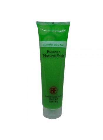 Natural Bath Salt Scrub Aromatherapy of Aloe / Lemon / Cucumber / Strawberry/ Milk / Lavender