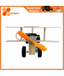 STEM Project / DIY Electric Wind Power Glide Plane / Mainan Kanak STEM Project