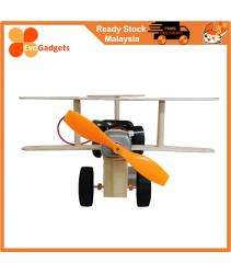 STEM Project / DIY Electric Wind Power Glide Plane / Mainan Kanak STEM Project