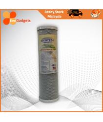 EvoGadgets - 10 Inch Carbon Block Filter / Carbon Filter Cartridge / Ecotech