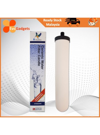 EvoGadgets Doulton Ceramic Water Filter Candle / Penapis Air / Water Purifier