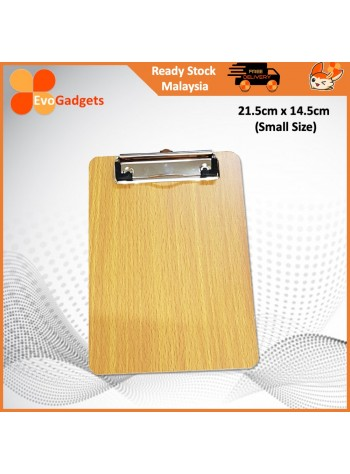 EvoGadgets A4 or Smaller Size Wooden Clipboard / MDF Wood Board / Stationary
