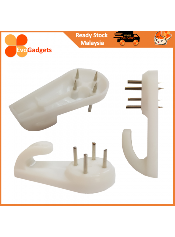 EvoGadgets Photo Frame Hanger / Hook / Invisible Nail / Wall Hook Seamless Nail
