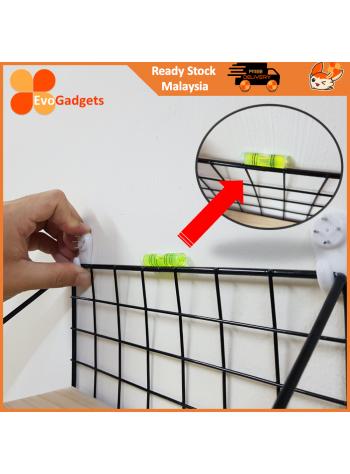 EvoGadgets Mini Bubble Level / Spirit Level for Photo Frame / Mural Hanging