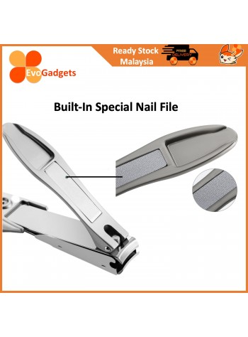 EvoGadgets Premium Anti-Splash Nail Clipper / Nail Cutter / Pemotong Kuku / Nail Clippers / Cutters
