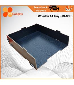 EvoGadgets Innovative Wooden Stackable A4 Document / Letter Tray / Desktop / Tabletop Organiser / Document Rack