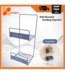 Evogadgets Premium Handbag Organizer / rack / multipurpose wall mounted / Rak / Free Magic Hook