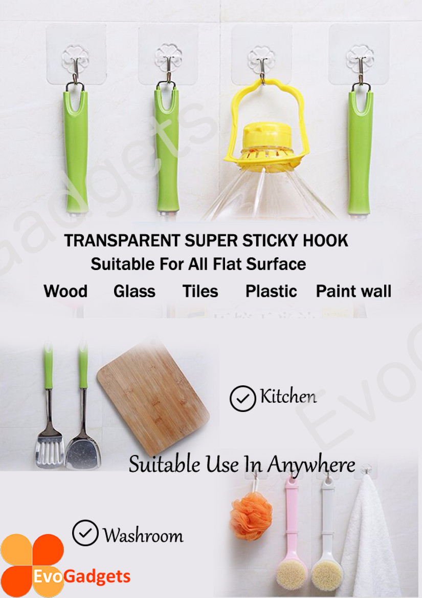 Heavy Duty Magic Hook / Super Sticky Magic Hook / Strong Adhesive Magic Hook