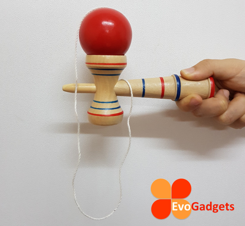 Wooden Kendama Skillful Juggling Ball Game Toy