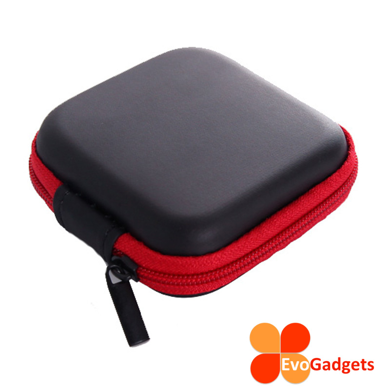 EvoGadgets Mini Multipurpose Earphone Case (For Coins and Gadgets)