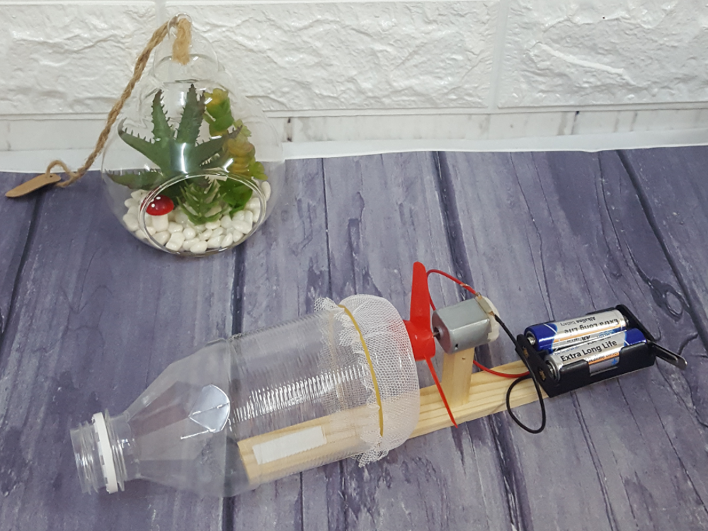 DIY Vacuum Cleaner for Kids (STEM Project)